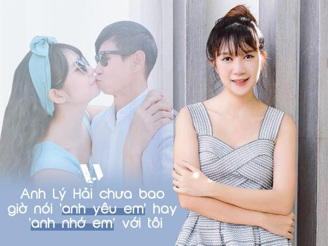 Minh Hà: Lý Hải chưa bao giờ nói yêu hay nhớ với tôi