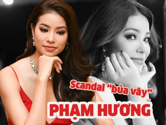 Vận đen đeo bám, 1 tháng Phạm Hương bị scandal gọi tên đến 3 lần