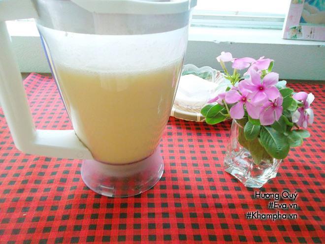 Cách làm sữa đậu xanh ngon mát, bổ dưỡng cả nhà ai cũng thích - 7
