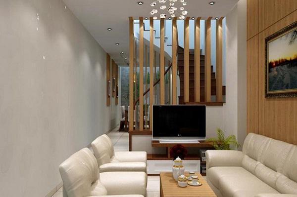Nguyên tắc trang trí nội thất phòng khách nhà ống