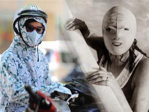 """Các Ninja Lead cũng phải """"cúi đầu"""" trước cách chống nắng cực đỉnh của phụ nữ xưa"""