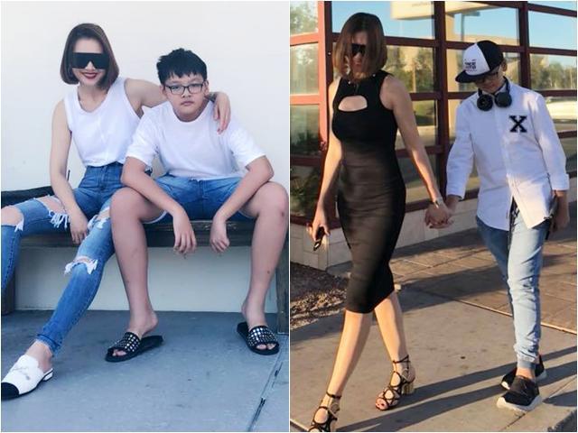 Bất ngờ với hình ảnh con trai cao lớn của mẹ đơn thân Anh Thư, 11 tuổi đã gần 1m70