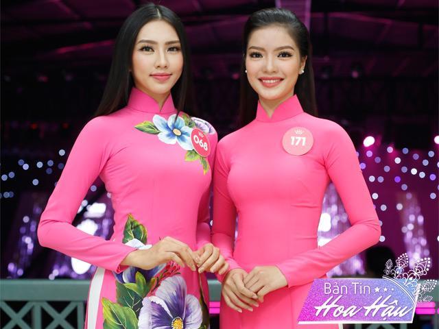 Loạt thí sinh Hoa hậu Việt Nam 2018 chọn áo dài để tham dự Người đẹp nhân ái
