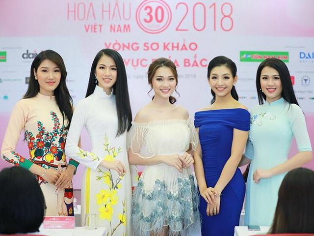 Dàn người đẹp HH Hoàn vũ cùng lọt vào Chung khảo Hoa hậu Việt Nam 2018