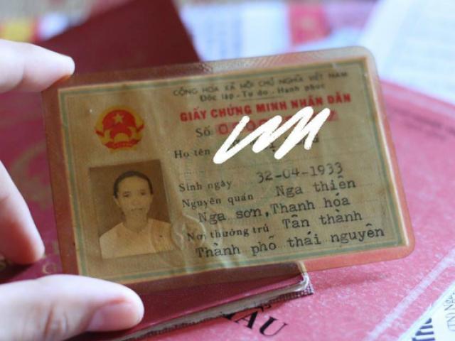 Giấy CMND siêu lạ lùng của bà cụ U85 ở Thái Nguyên sinh ngày 32/4 gây sốt MXH