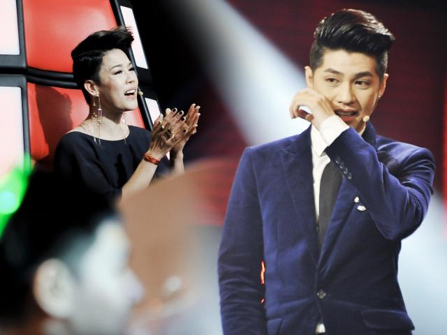 The Voice: Hành động bất ngờ của Thu Phương khiến Noo Phước Thịnh bật khóc