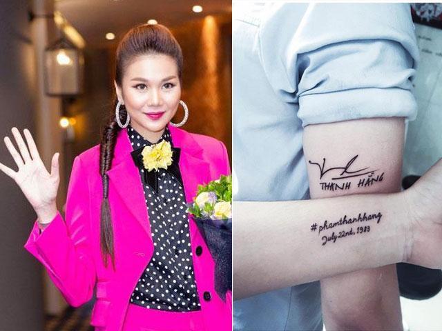 Sao Việt 24h: Thanh Hằng xót xa Đừng làm da thịt đau thêm nữa khi fan xăm tên cô