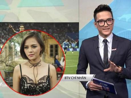 """Chí Nhân - chồng cũ của """"My sói"""" Thu Quỳnh bất ngờ làm BTV thể thao VTV"""
