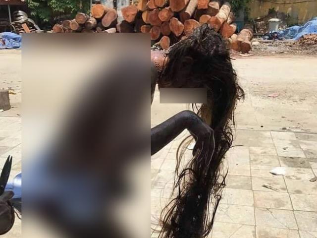 Kiều nữ nghi bị đánh ghen lột quần áo, cắt tóc và đổ mắm tôm lên người tại Hà Nội