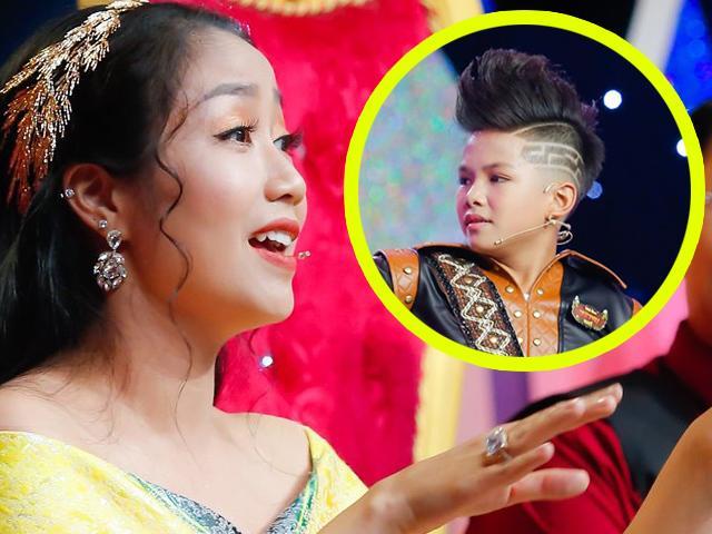 Giám khảo Ốc Thanh Vân phát cuồng vì cậu bé nhìn quá giống ca sĩ Trọng Hiếu Idol