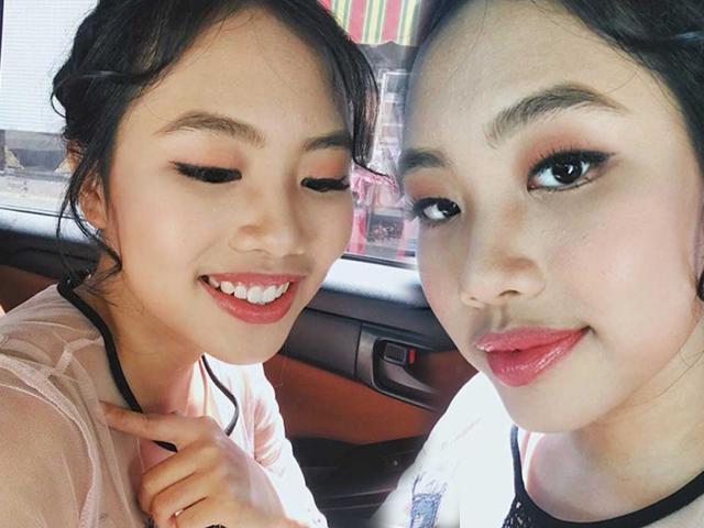 Tuổi 15, Cô bé dân ca  Phương Mỹ Chi trang điểm đậm khó nhận ra, fan tranh cãi