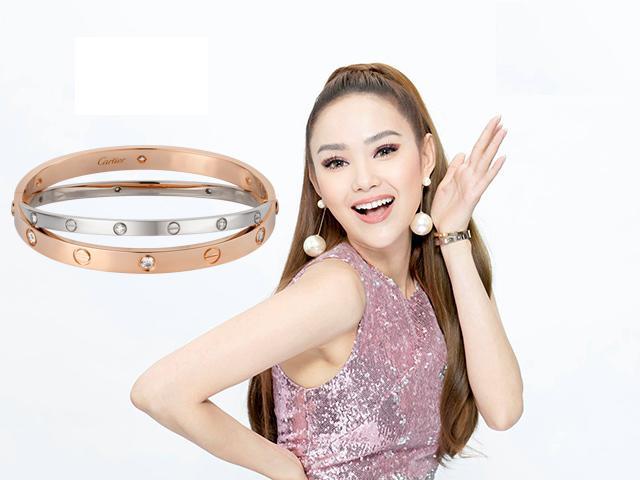 Chỉ là vòng tay mà giá tận 200 triệu đồng, bảo sao Minh Hằng không đeo đi khắp muôn nơi