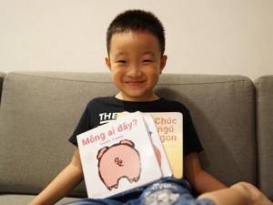 Mẹ 8X tiết lộ cách giúp con 6 tuổi thành dịch giả sách song ngữ, nói tiếng Anh lưu loát