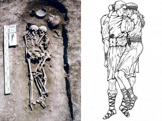 Phát hiện hài cốt đôi nam nữ ôm nhau suốt 3.000 năm và câu chuyện bí ẩn phía sau