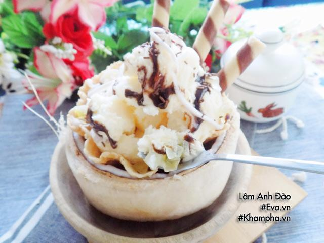 Image result for công thức làm kem dừa thái lan