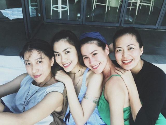 Hội bạn thân 10 năm của Tăng Thanh Hà: toàn mỹ nữ nổi tiếng lên chức mẹ bỉm sữa
