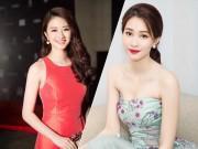 """Nhan sắc  """" mòn con mắt """"  sau sinh khiến chị em ghen tị của các nàng Hoa hậu, Á hậu Việt"""