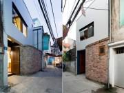 """Nhà Hà Nội 45m² trong ngõ bé tí, có kiểu cầu thang """"có cũng như không"""" nhưng ai cũng thích"""