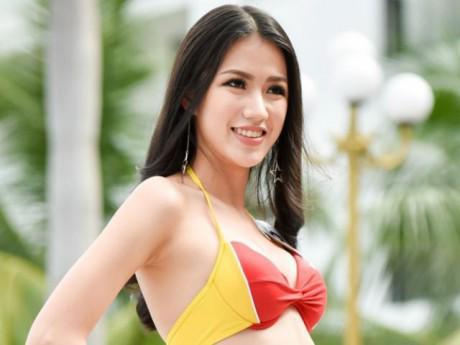 Nhan sắc nữ biên tập đài VTV nổi danh với hai lần té ngã dự thi Hoa hậu Việt Nam
