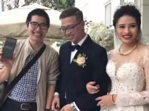Quẹt thẻ mừng cưới thay phong bì, cặp cô dâu chú rể Việt gây sốt mạng xã hội