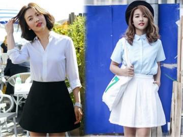 """Đều cao dưới 1m60, Khả Ngân chọn cách """"kéo chân"""" giống hệt Song Hye Kyo!"""