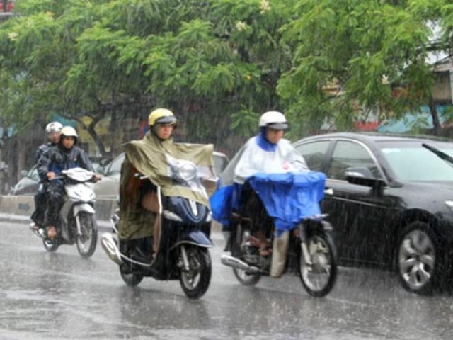 Tin mới thời tiết 16/7: Đầu tuần Hà Nội tiếp tục có mưa lớn, vùng áp thấp sẽ mạnh lên