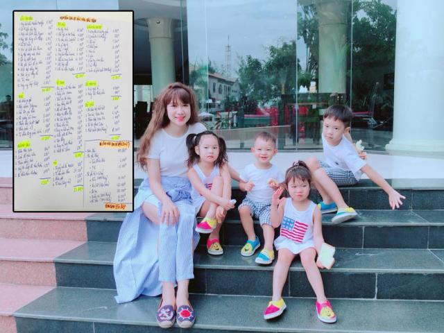 Vợ Lý Hải trần tình chuyện nuôi 4 con hết 2 tỷ, toàn đặt quần áo từ Mỹ cho con