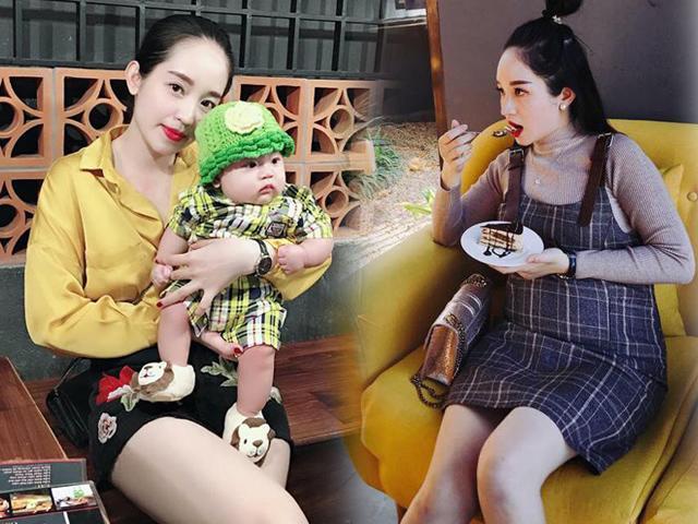 Mẹ 2 con quyết tâm không xuống sắcvới chế độ ăn vào con hơn vào mẹ khi mang bầu