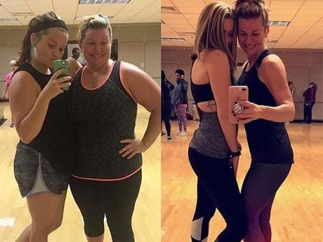 Giảm gần 90kg, 2 mẹ con gây náo loạn mạng xã hội chỉ bằng 1 điệu nhảy