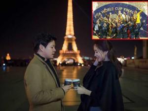 Hoa hậu Thu Thảo thắng trà sữa từ chồng đại gia nhờ cược Pháp vô địch World Cup 2018