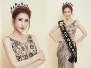 Cận cảnh nhan sắc của cô gái mồ côi Chi Nguyễn vừa đăng quang Hoa hậu Châu Á