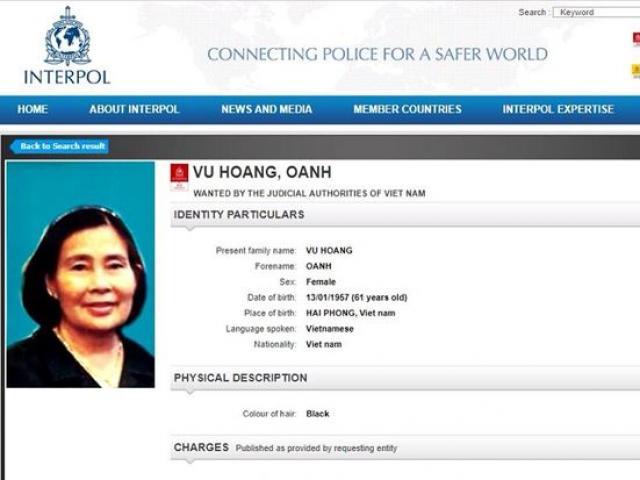 Truy nã quốc tế bà trùm - người cầm đầu đường dây ma túy xuyên quốc gia