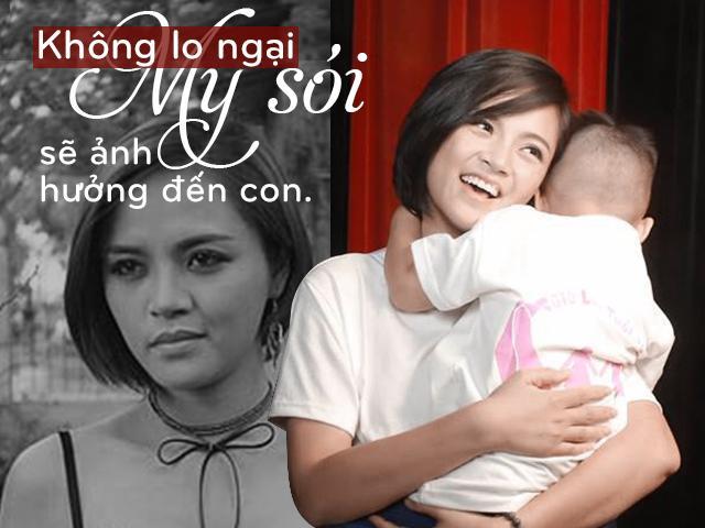 My sói Thu Quỳnh: Không dám nhận mình lột xác thành công sau khi làm mẹ đơn thân