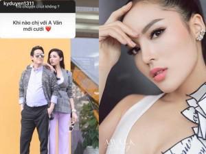 """Sao Việt 24h: Hoa hậu Kỳ Duyên đợi Hứa Vĩ Văn sang """"hỏi cưới"""""""