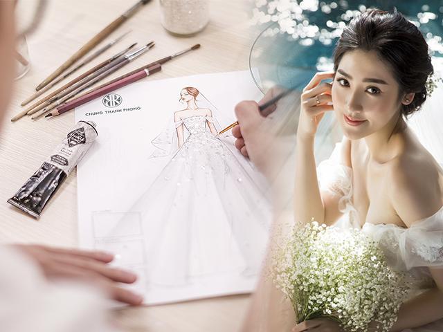 Lấy chồng thiếu gia nhưng Á hậu Tú Anh quyết chọn váy cưới Việt và cái kết đẹp như mơ