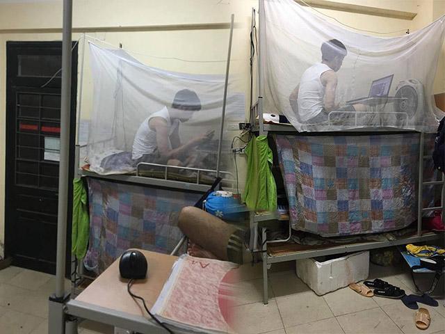 Cặp đôi mây mưa suốt đêm trong kí túc xá nam khiến cả phòng 10 người mất ngủ