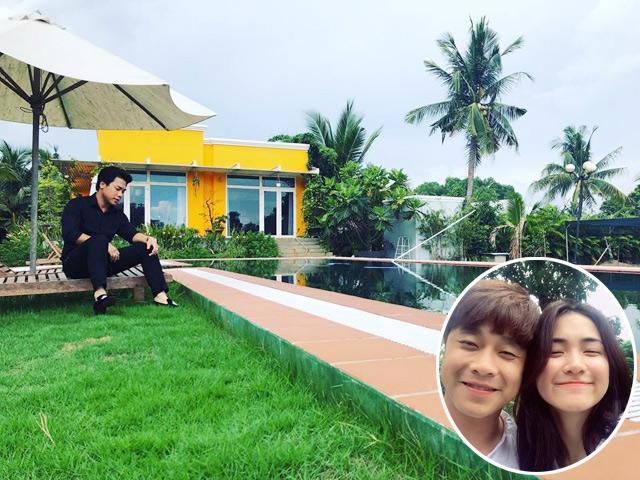 Đột nhập biệt thự nhà vườn đẹp như resort mini mà bạn trai doanh nhân của Hòa Minzy đang ở