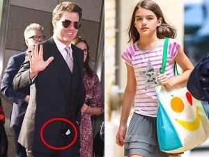 Ngôi sao 24/7: Bỏ rơi Suri 7 năm trời, Tom Cruise tươi rói xuất hiện nhưng quên kéo khóa quần