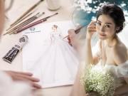 Thời trang - Lấy chồng thiếu gia nhưng Á hậu Tú Anh quyết chọn váy cưới Việt và cái kết đẹp như mơ