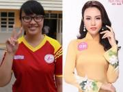 """Làm đẹp - Kỉ lục giảm 32kg """"thần tốc"""" để tranh ngôi Hoa hậu Việt Nam 2018 của cô nàng Thủy Tiên"""