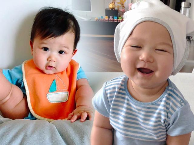 Chưa tròn tuổi, quý tử nhà Đại tỷ TVB Hồ Hạnh Nhi lần đầu tiên được xuất ngoại