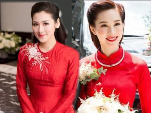 Để hạnh phúc như Hà Tăng, Đặng Thu Thảo, nhất định phải chọn áo dài này trong ngày cưới