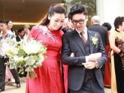 Giải trí - Á hậu Tú Anh lộ bụng to bất thường trong hôn lễ với chồng thiếu gia