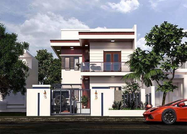 Tư vấn xây những mẫu nhà 2 tầng nông thôn đẹp với chi phí chỉ từ vài trăm triệu đồng - 8