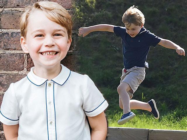 Sinh nhật tròn 5 tuổi, Hoàng tử George được bố mẹ tung ảnh răng sún yêu không chịu nổi
