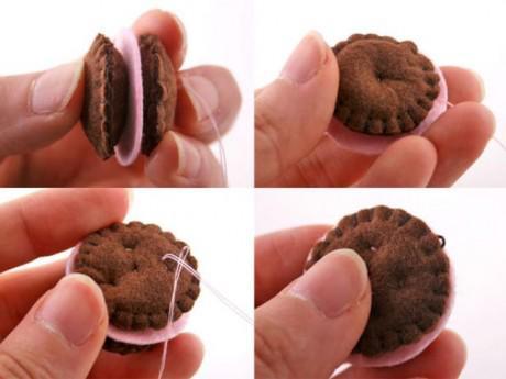 """DIY: Móc chìa khóa hình bánh quy xinh xắn """"ú nu"""" ai nhìn cũng khen xinh"""