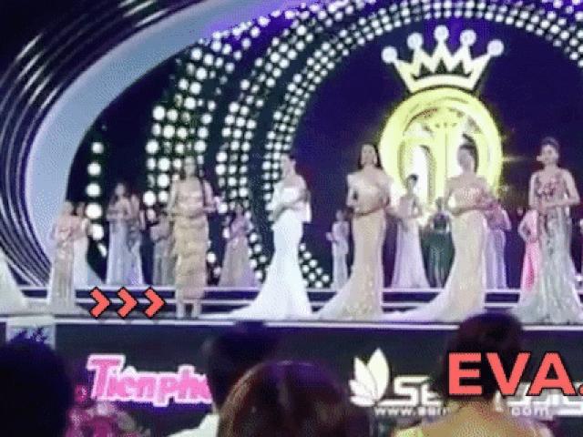 Mỹ nhân dân tộc Tày bị đá váy không thương tiếc trên sân khấu Hoa hậu Việt Nam 2018