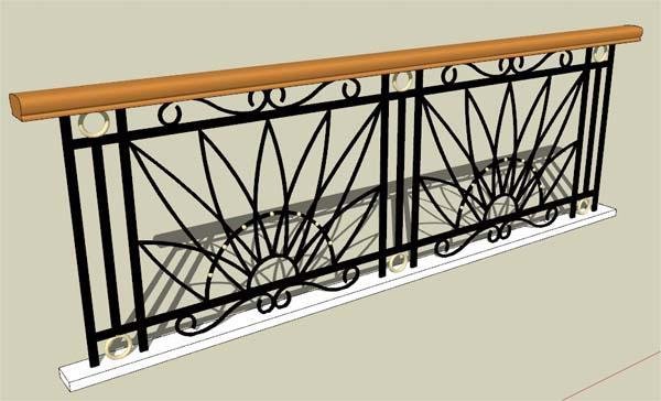 Những mẫu lan can ban công sắt đẹp nhất khiến ngôi nhà nổi amp;#34;bần bậtamp;#34; giữa phố - 7