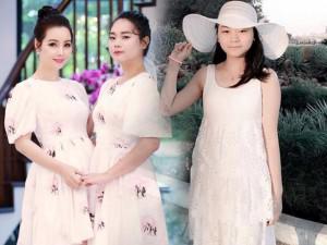 Ai ngờ con gái Mai Thu Huyền đã 15 tuổi, cao lớn và xinh đẹp ngang ngửa mẹ