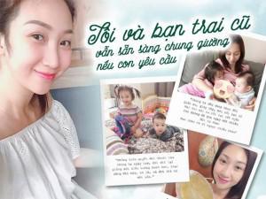 Hậu mang bầu tăng 25kg, Lều Phương Anh thừa nhận đang làm mẹ đơn thân, bán hàng online nuôi con